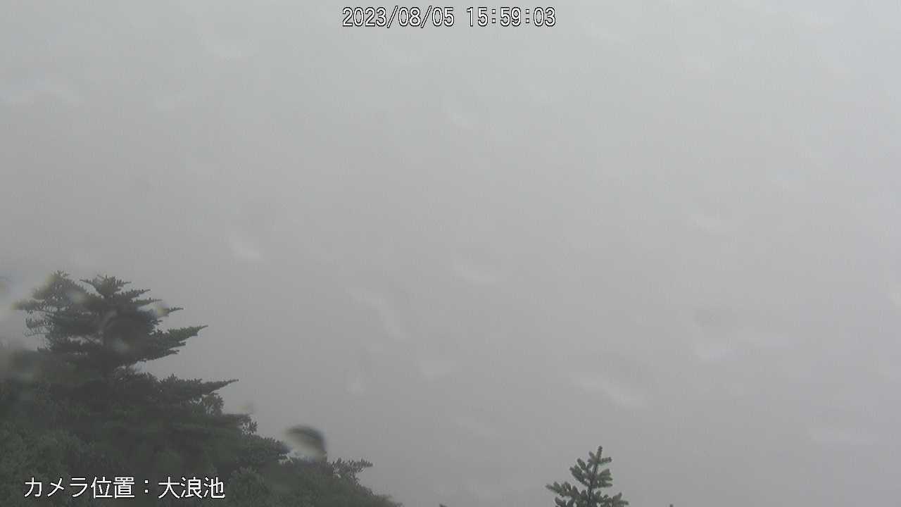 霧島山(新燃岳カメラ)